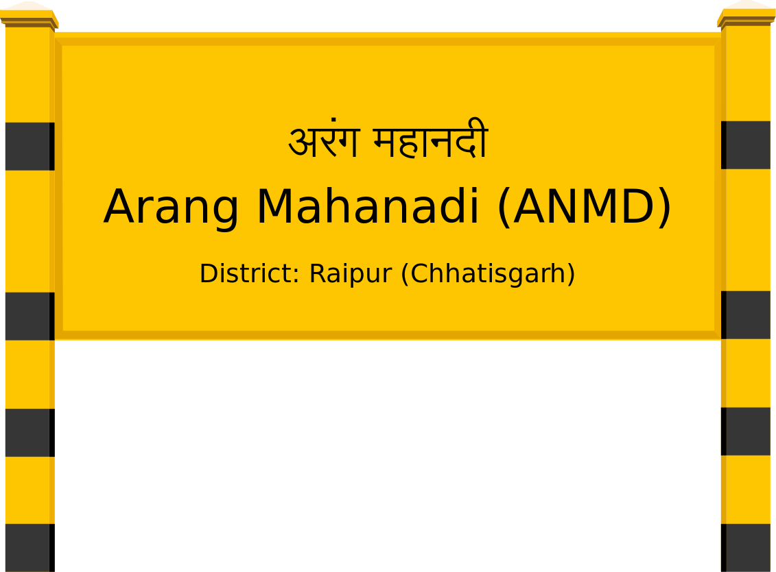 Arang Mahanadi (ANMD) Railway Station