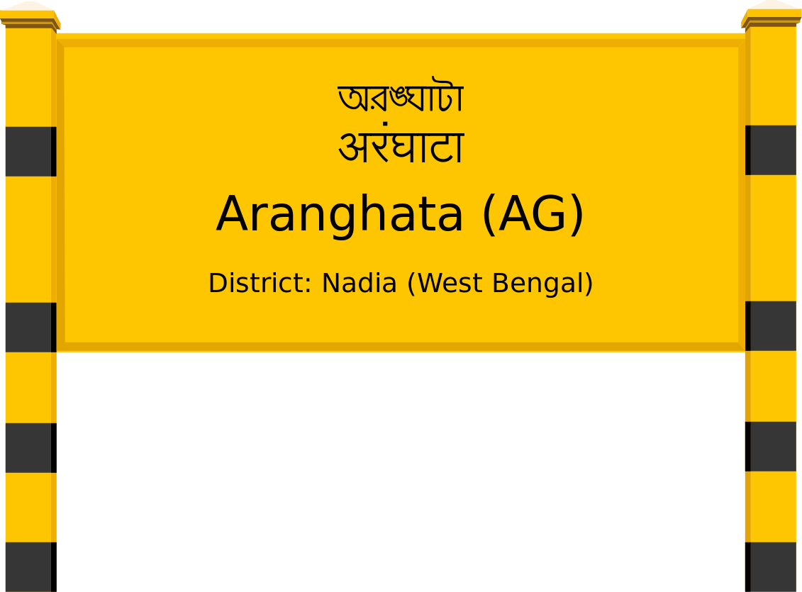 Aranghata (AG) Railway Station