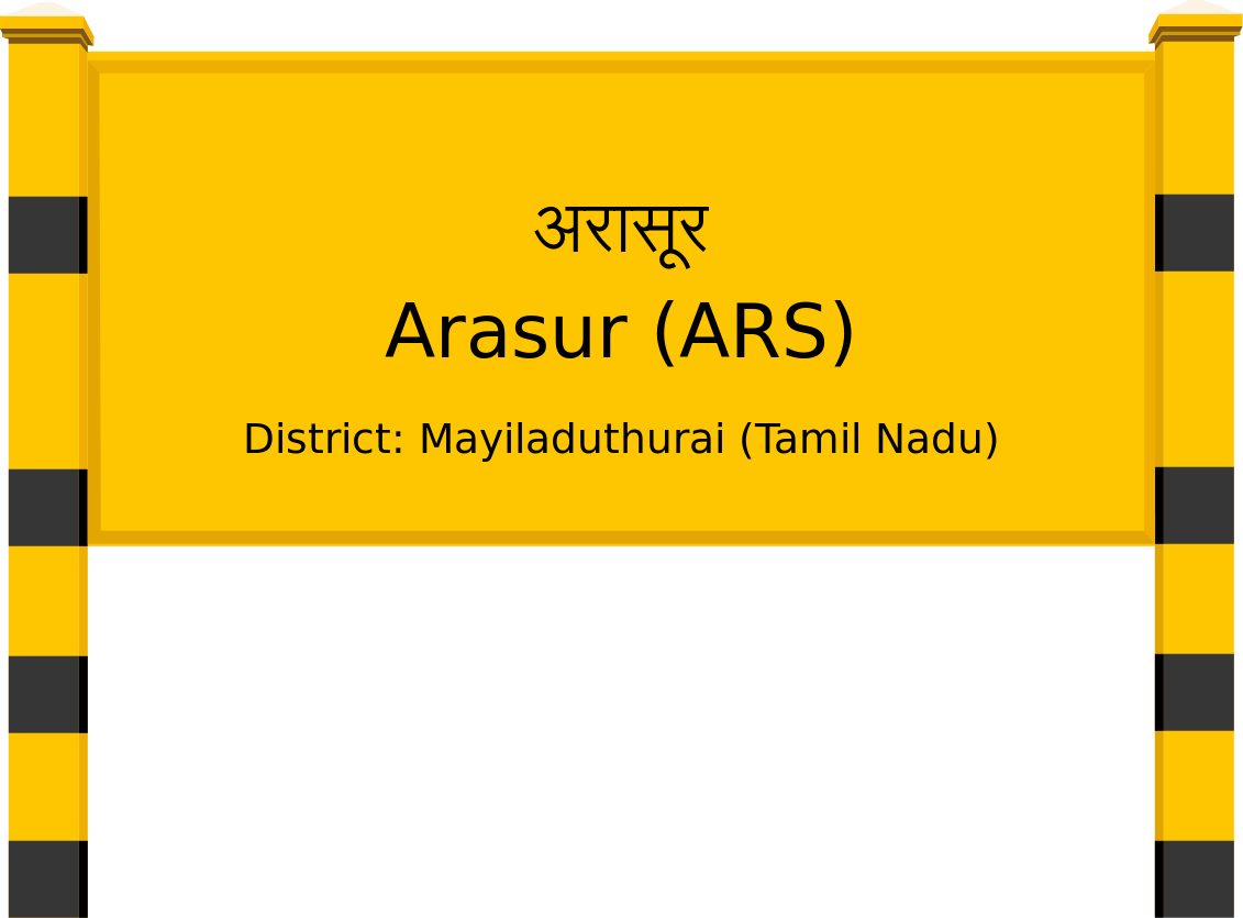 Arasur (ARS) Railway Station