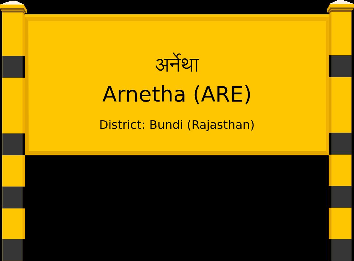 Arnetha (ARE) Railway Station
