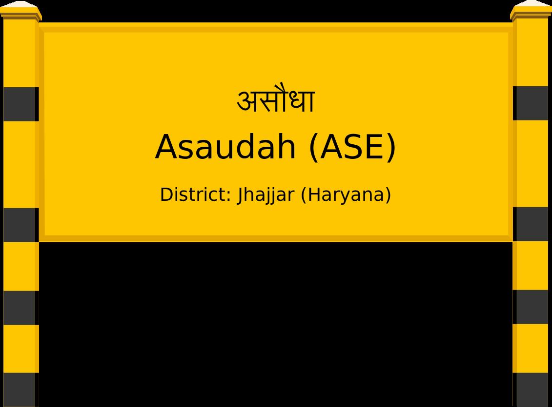 Asaudah (ASE) Railway Station