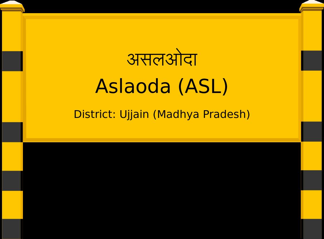 Aslaoda (ASL) Railway Station