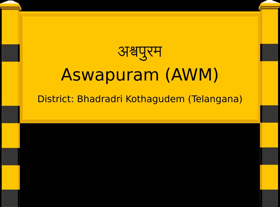 Aswapuram (AWM) Railway Station