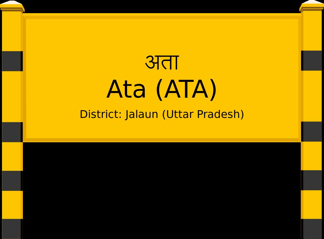 Ata (ATA) Railway Station