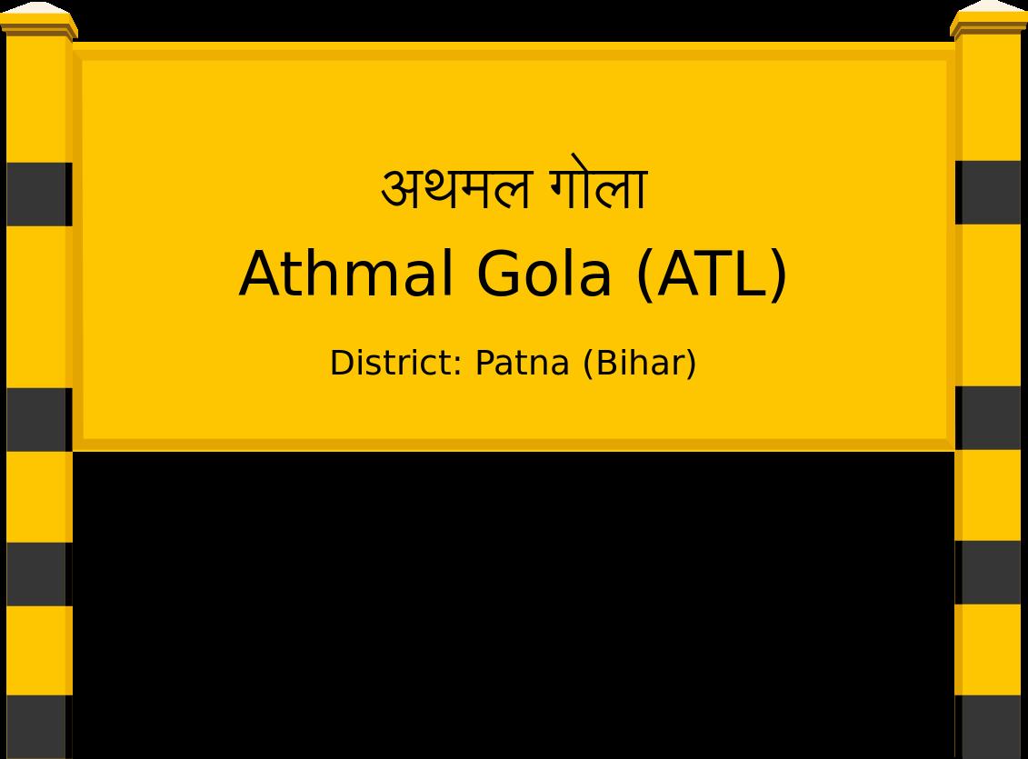 Athmal Gola (ATL) Railway Station