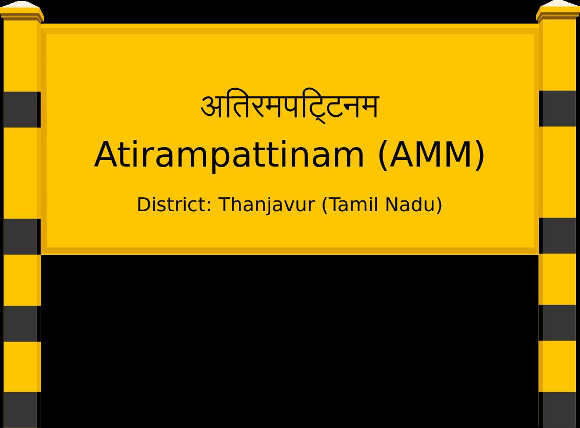 Atirampattinam (AMM) Railway Station