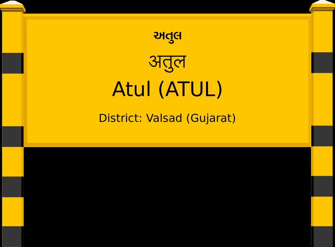 Atul (ATUL) Railway Station