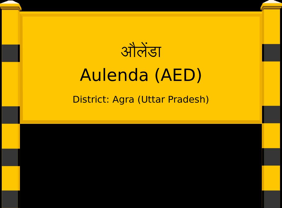 Aulenda (AED) Railway Station