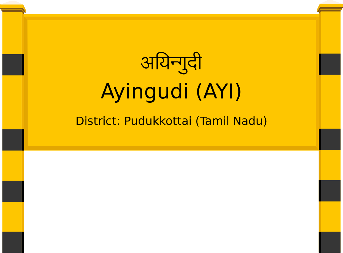 Ayingudi (AYI) Railway Station