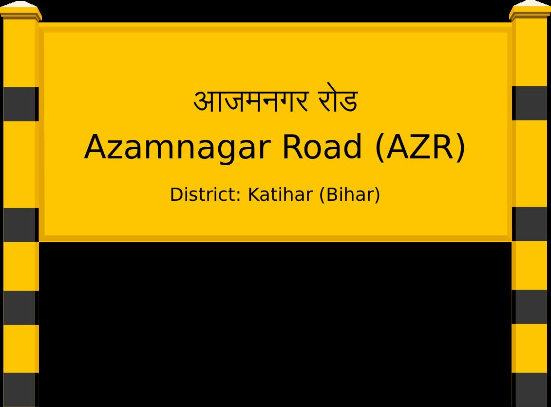 Azamnagar Road (AZR) Railway Station