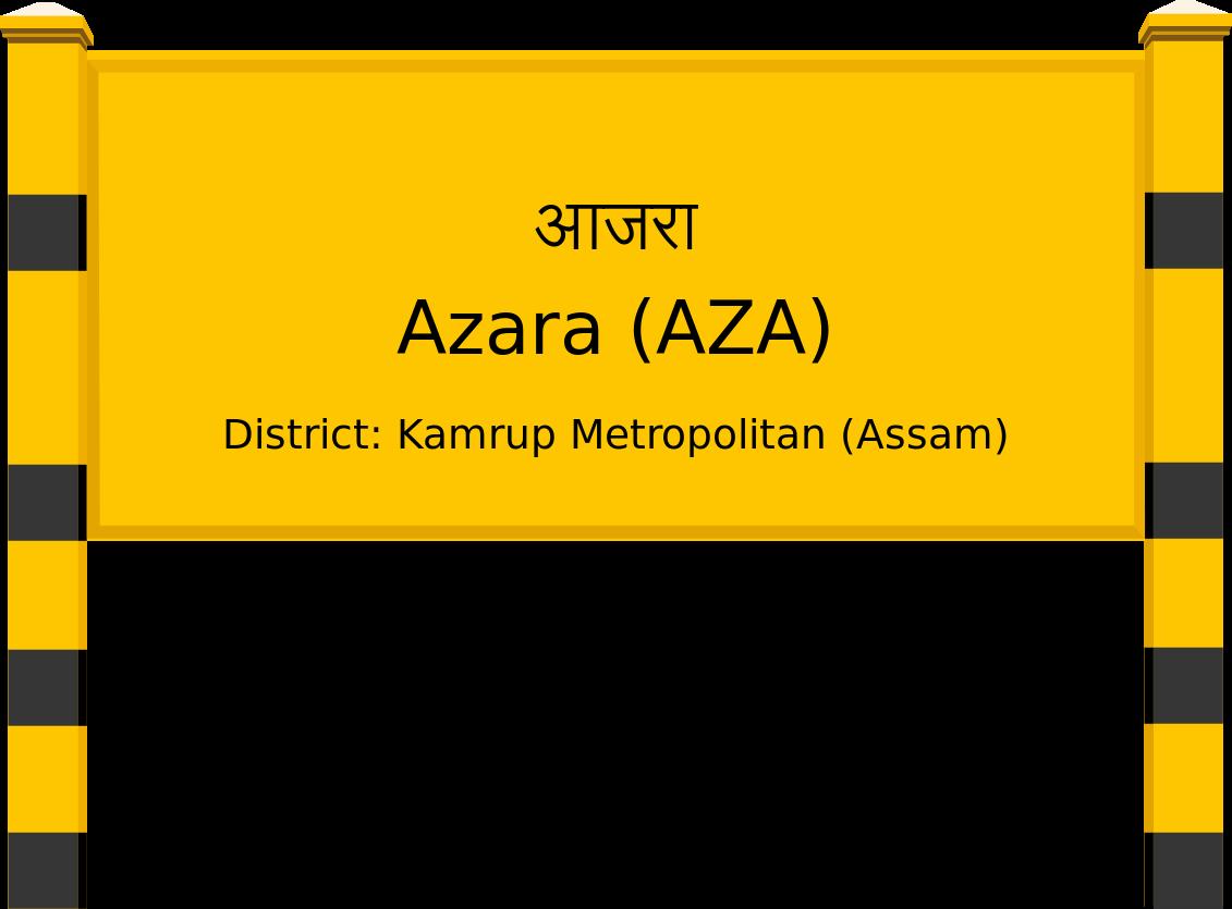 Azara (AZA) Railway Station
