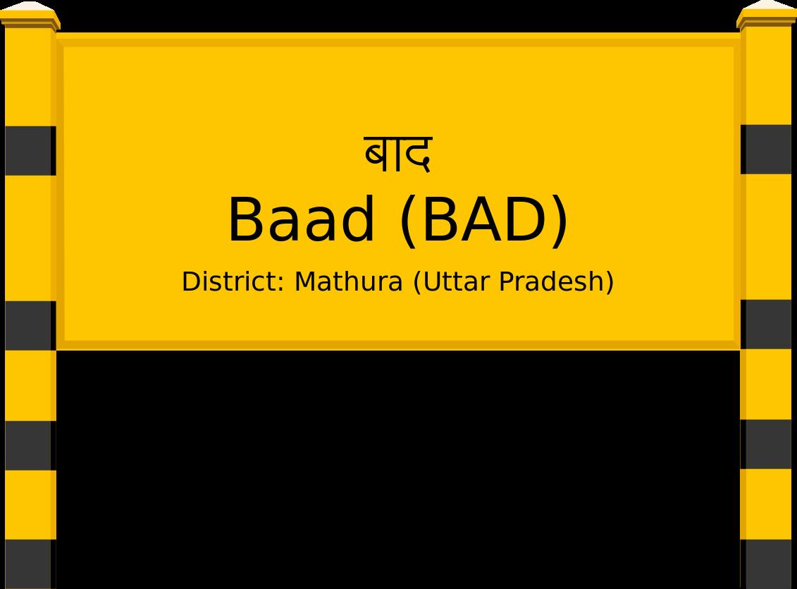 Baad (BAD) Railway Station