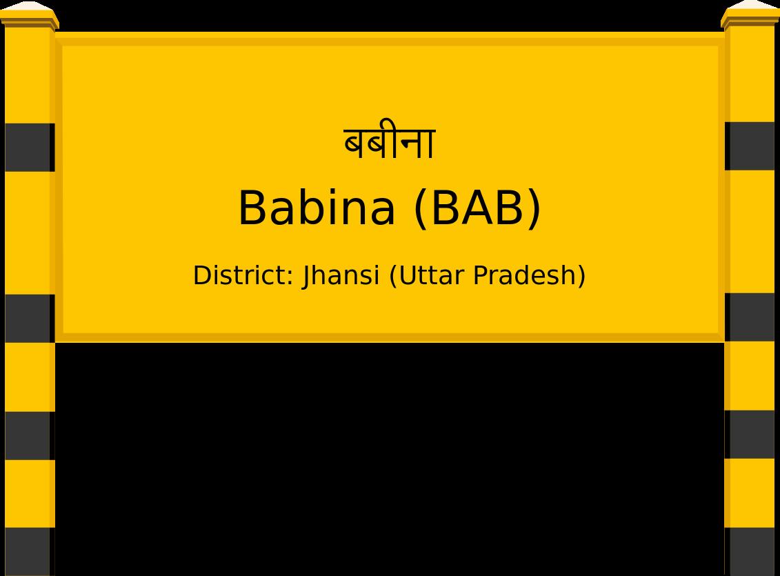 Babina (BAB) Railway Station