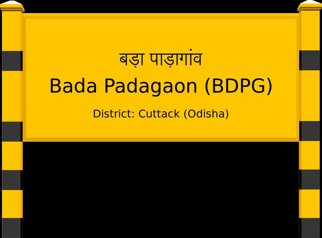 Bada Padagaon (BDPG) Railway Station