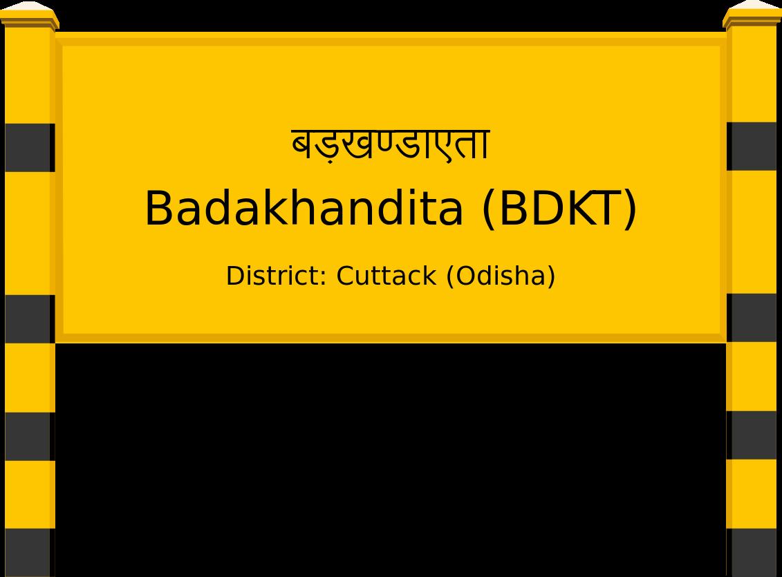 Badakhandita (BDKT) Railway Station