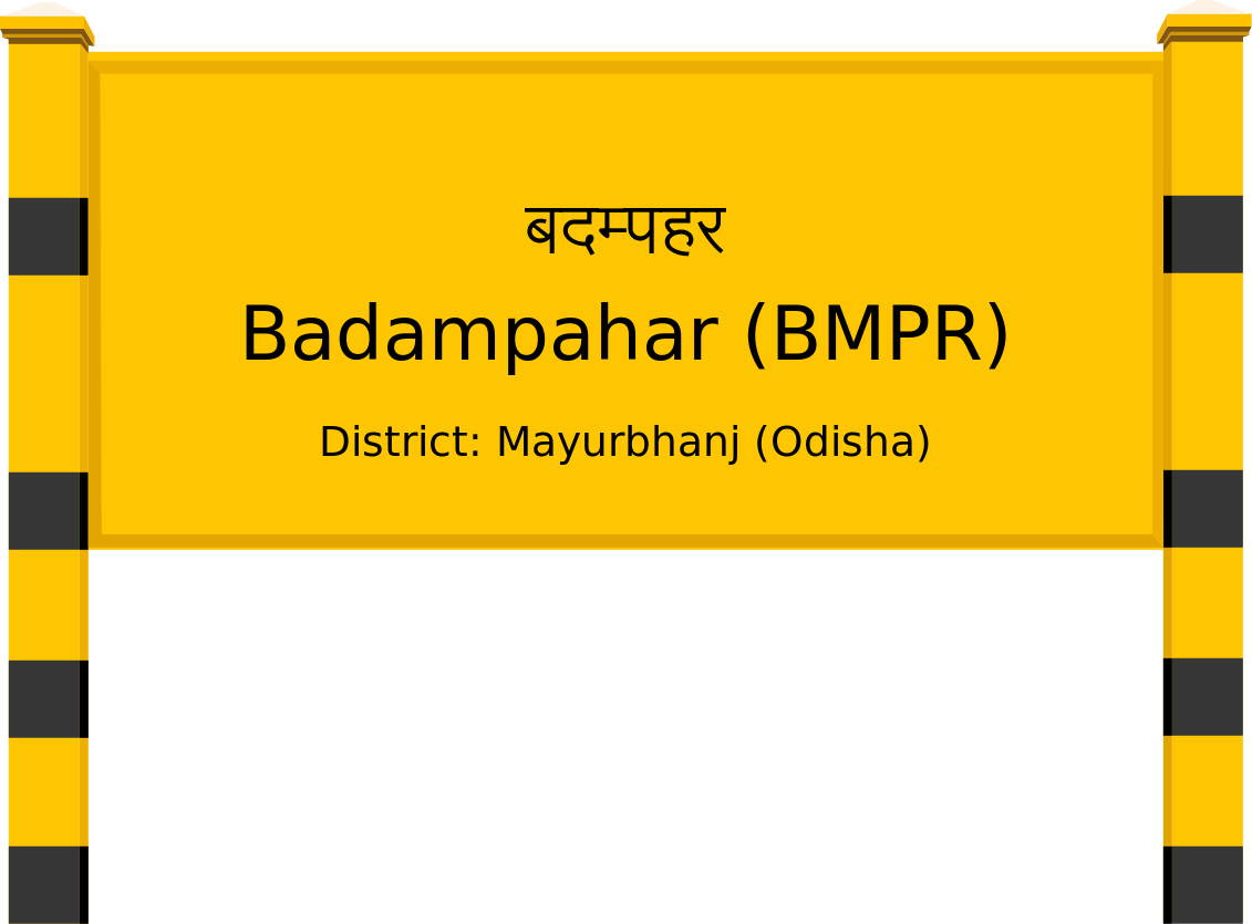 Badampahar (BMPR) Railway Station