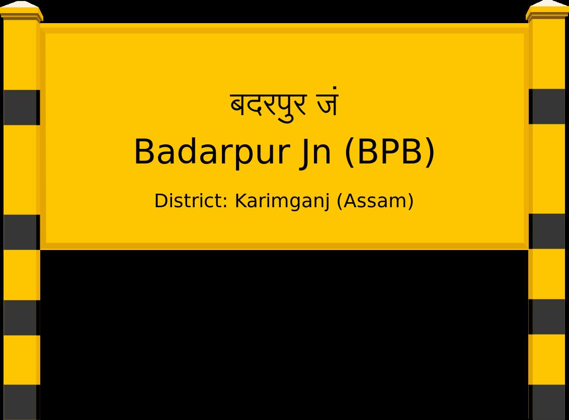 Badarpur Jn (BPB) Railway Station