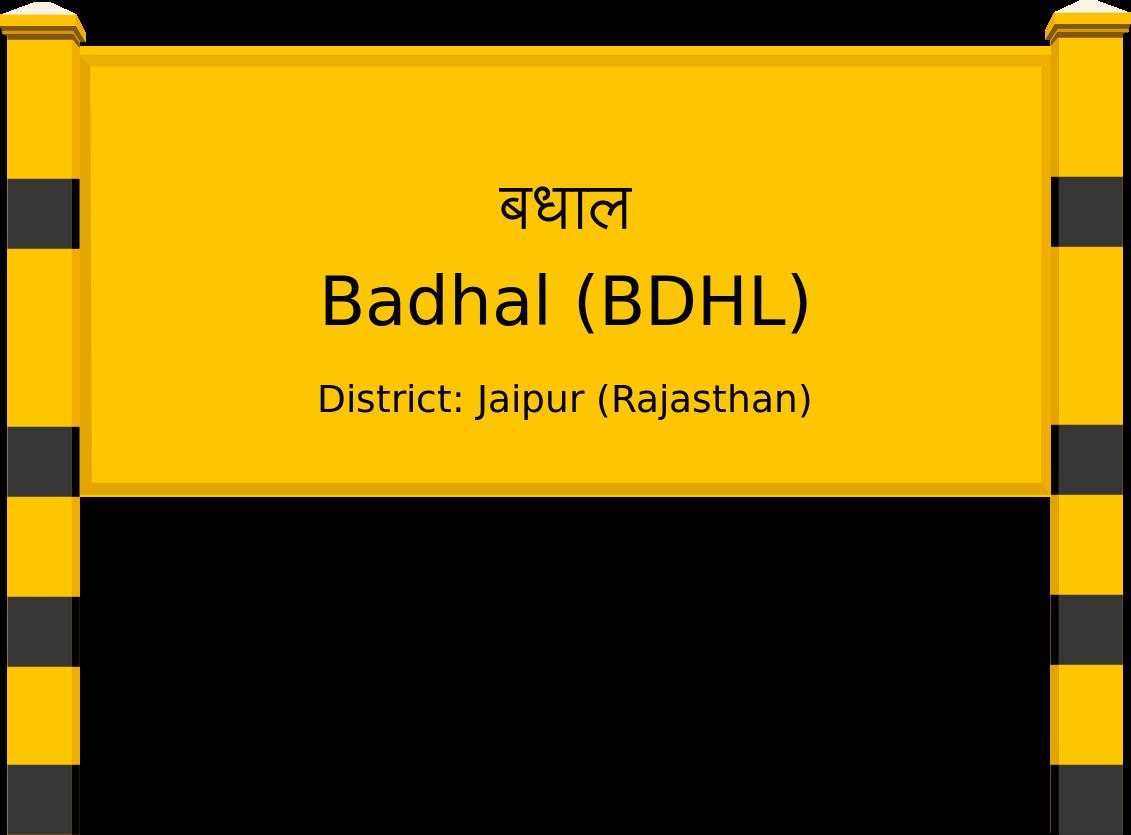 Badhal (BDHL) Railway Station