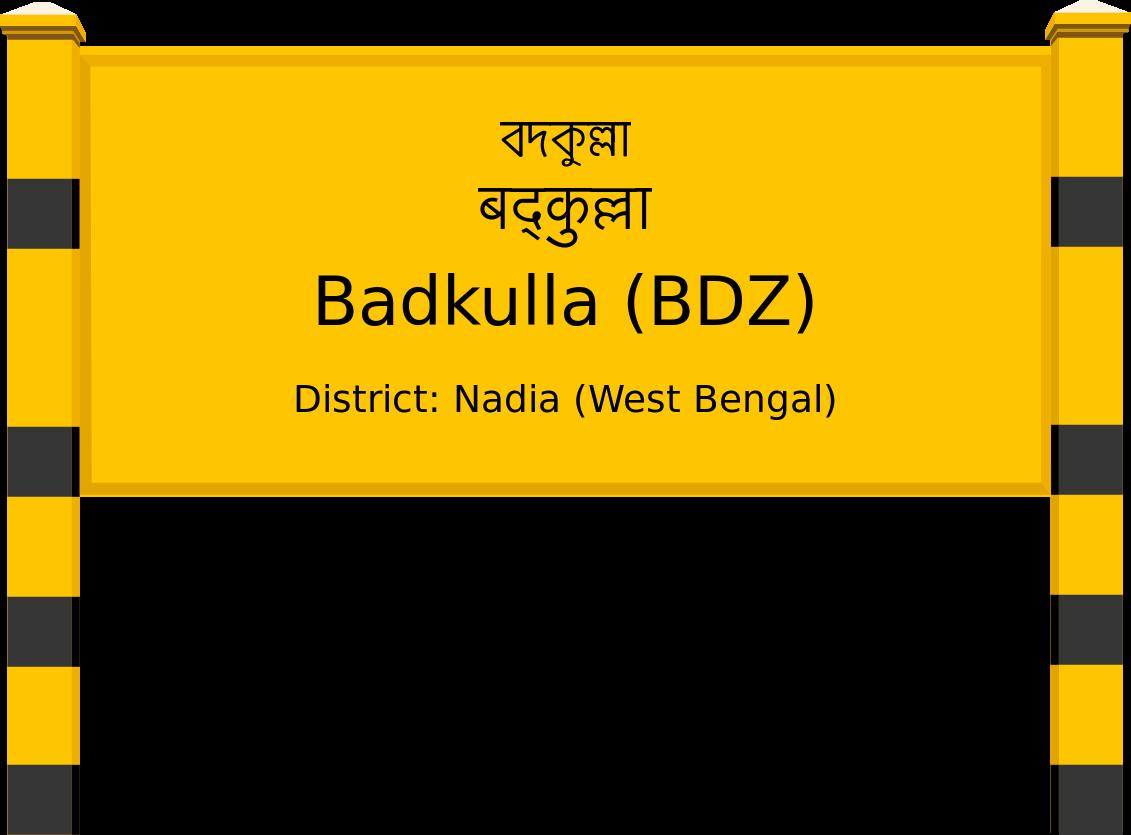 Badkulla (BDZ) Railway Station