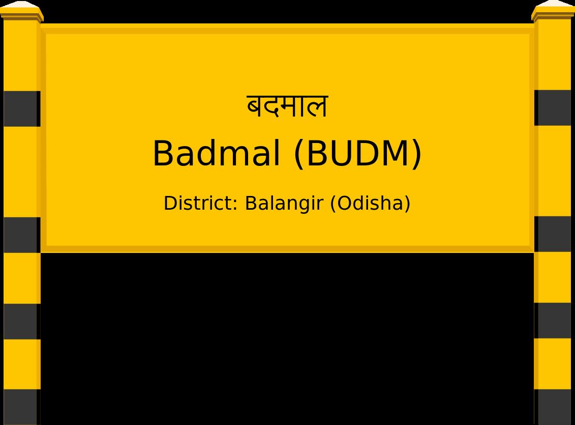 Badmal (BUDM) Railway Station