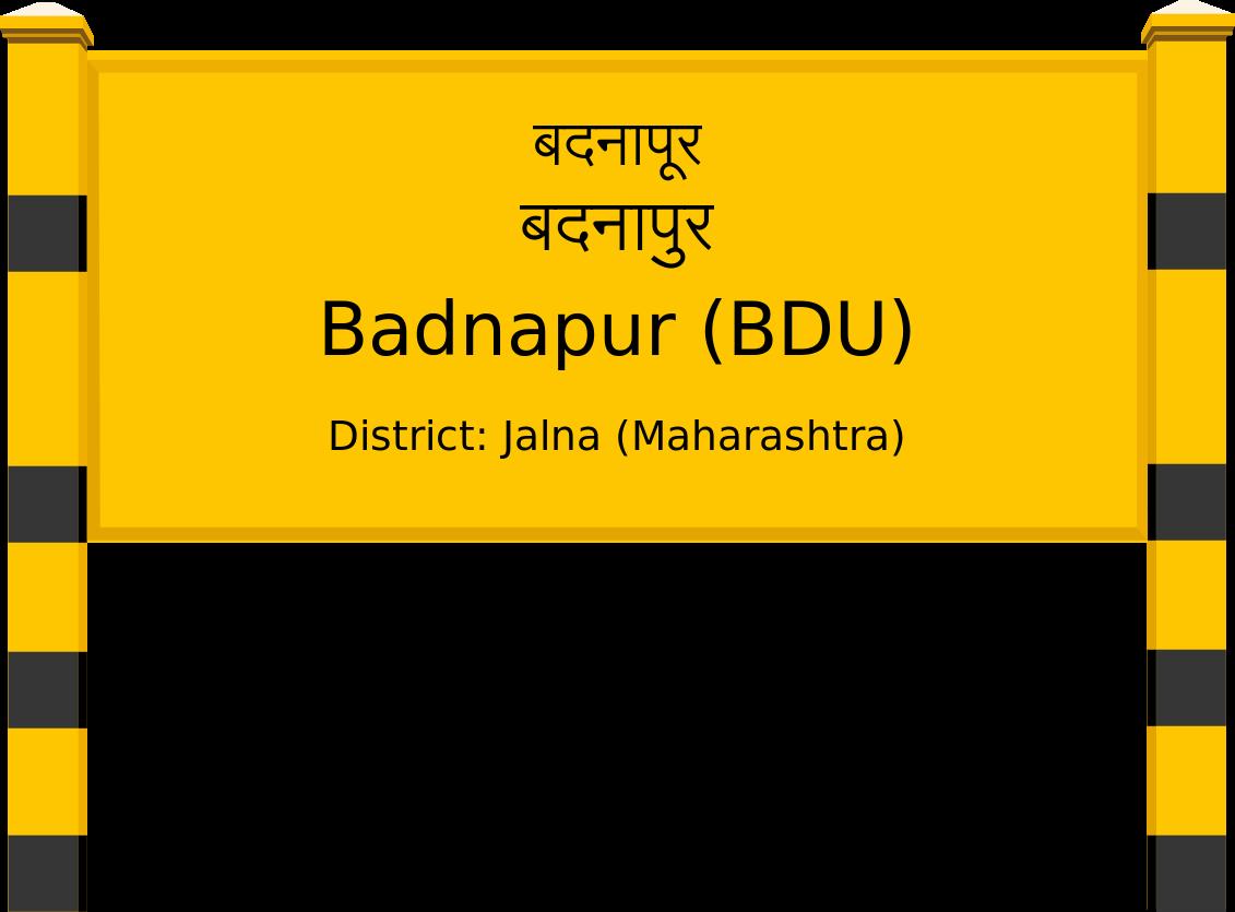 Badnapur (BDU) Railway Station