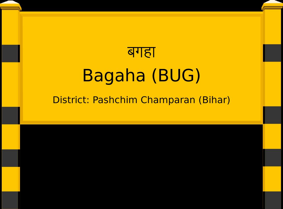 Bagaha (BUG) Railway Station