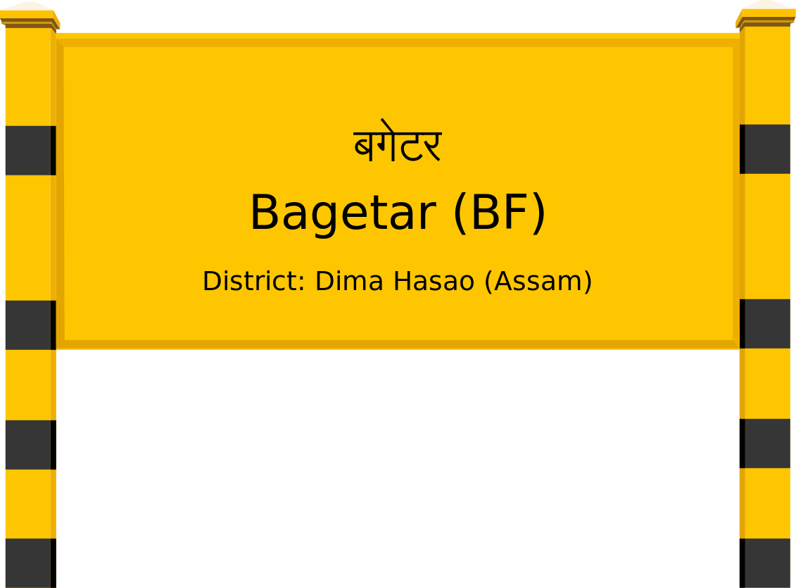 Bagetar (BF) Railway Station