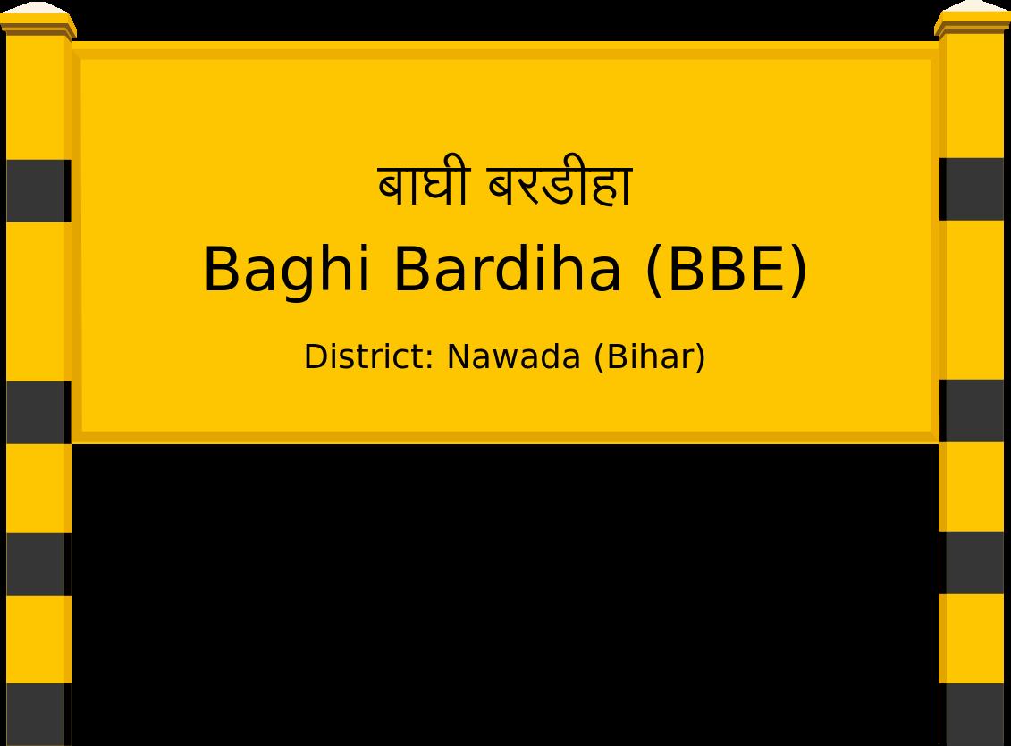 Baghi Bardiha (BBE) Railway Station