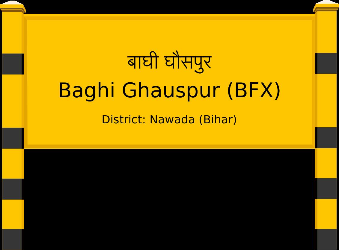 Baghi Ghauspur (BFX) Railway Station