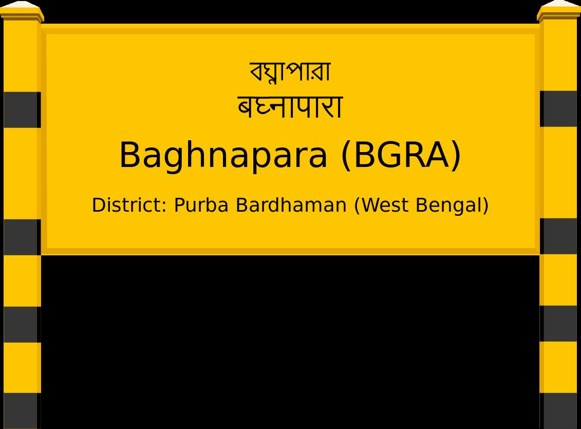 Baghnapara (BGRA) Railway Station