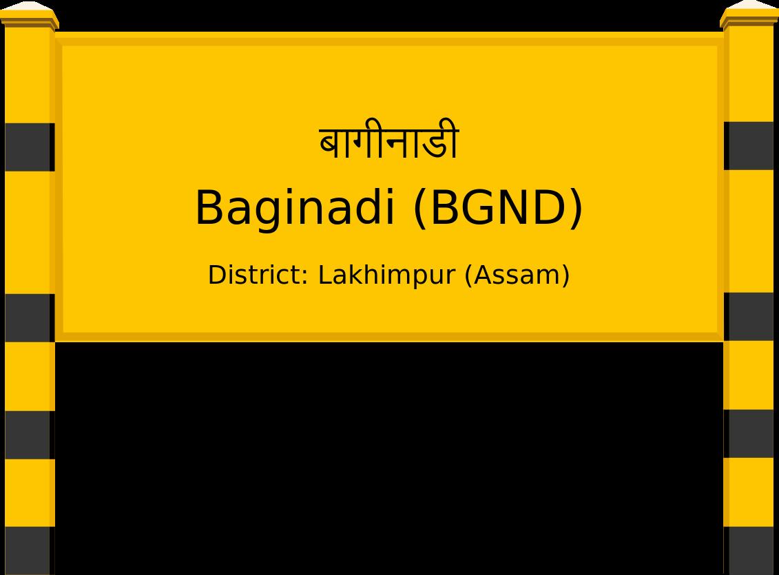 Baginadi (BGND) Railway Station
