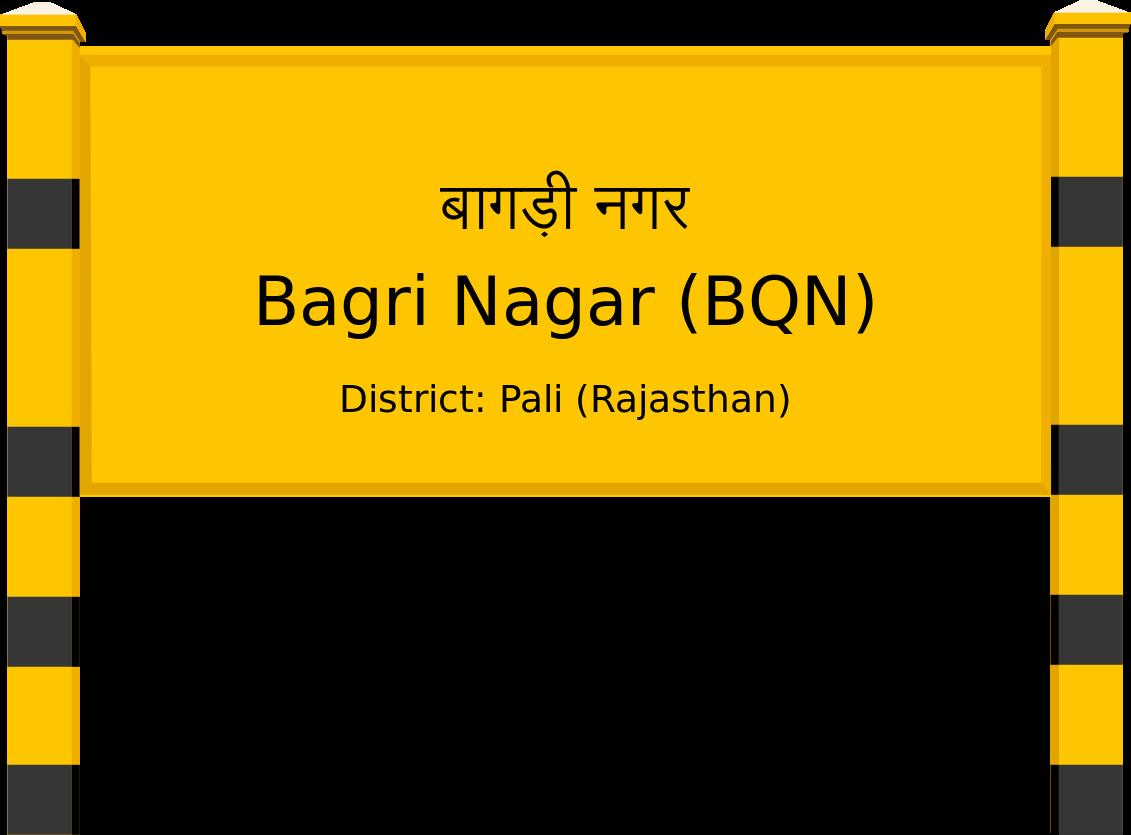 Bagri Nagar (BQN) Railway Station