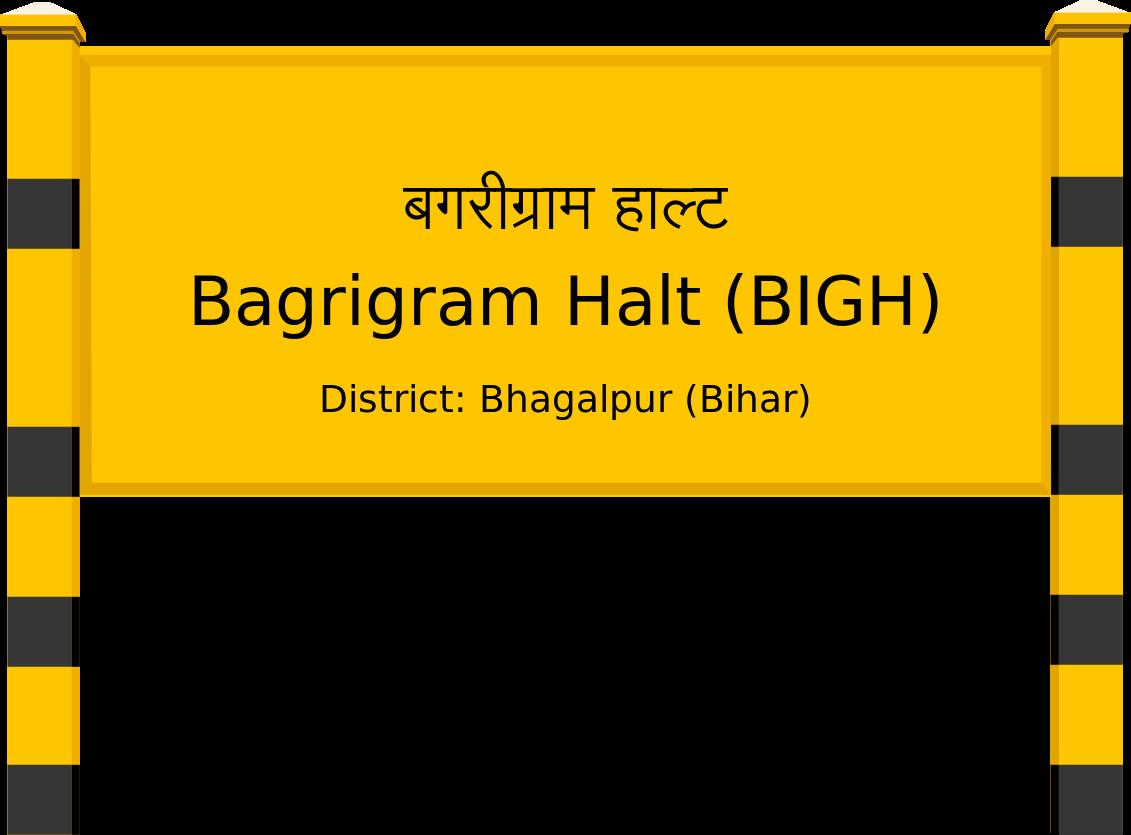 Bagrigram Halt (BIGH) Railway Station
