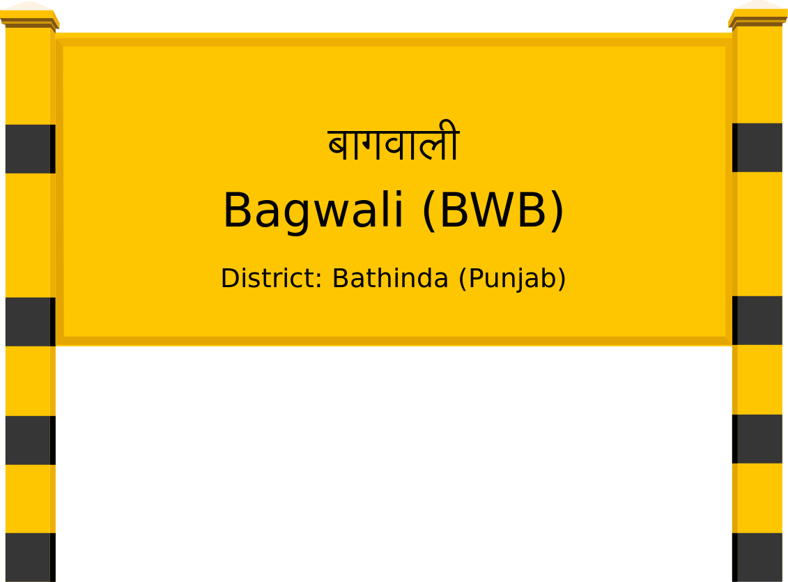 Bagwali (BWB) Railway Station