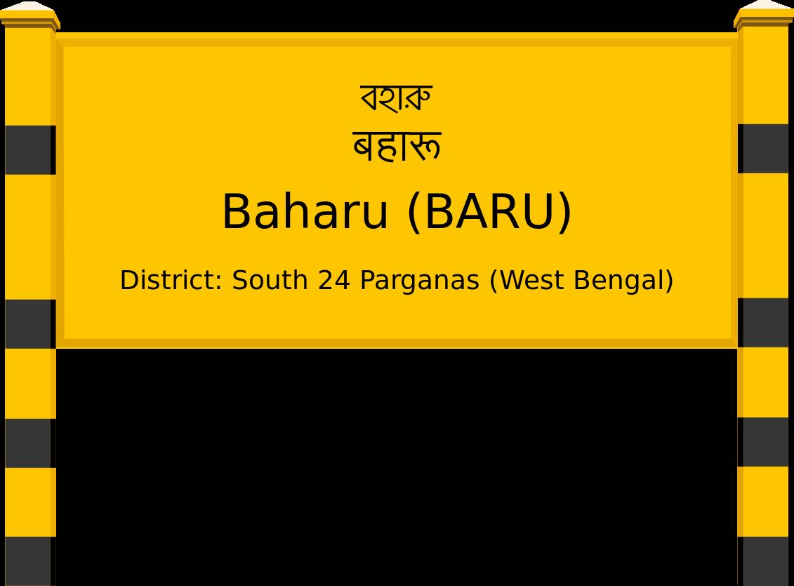 Baharu (BARU) Railway Station