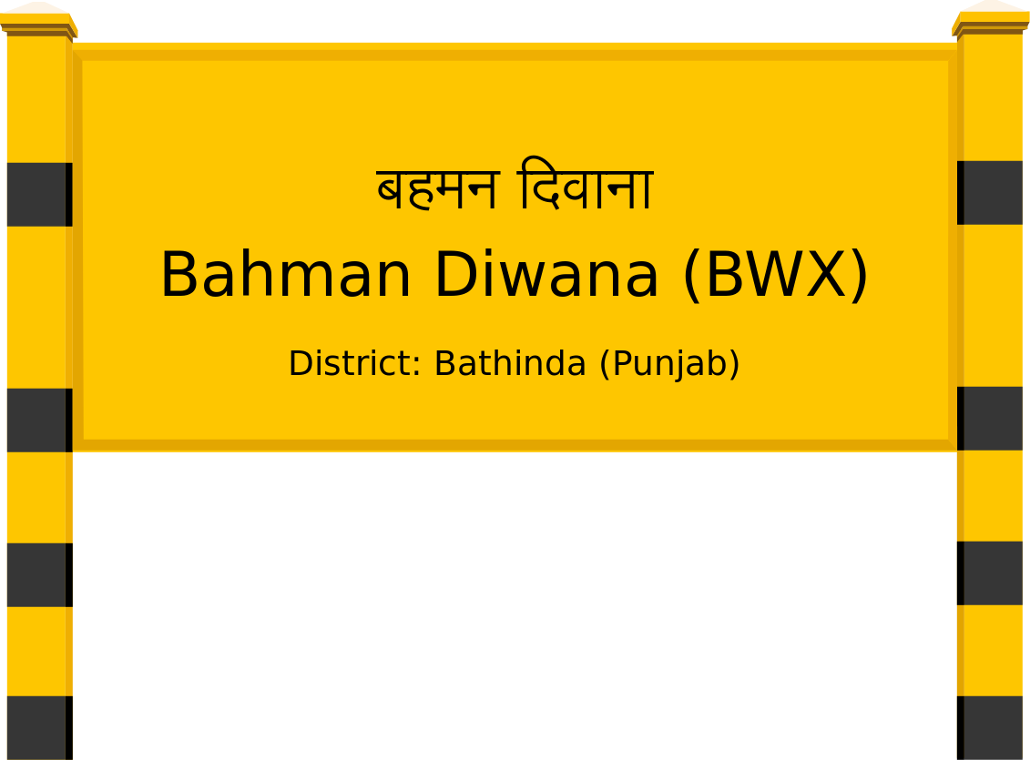 Bahman Diwana (BWX) Railway Station