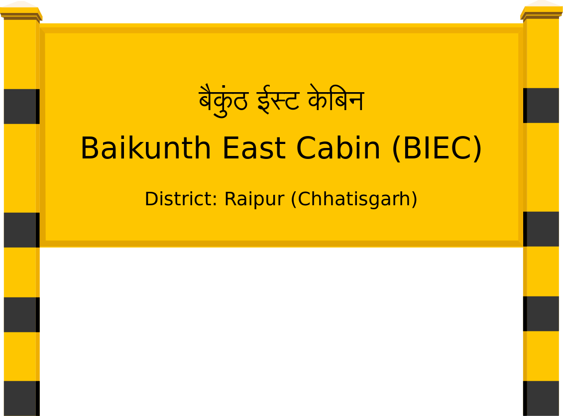Baikunth East Cabin (BIEC) Railway Station