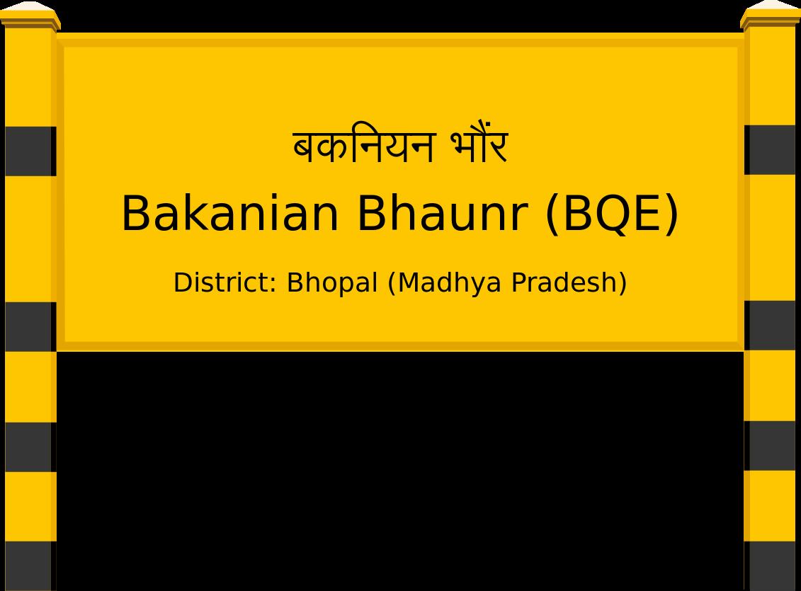 Bakanian Bhaunr (BQE) Railway Station