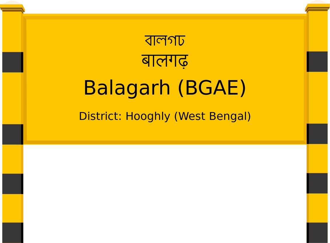 Balagarh (BGAE) Railway Station