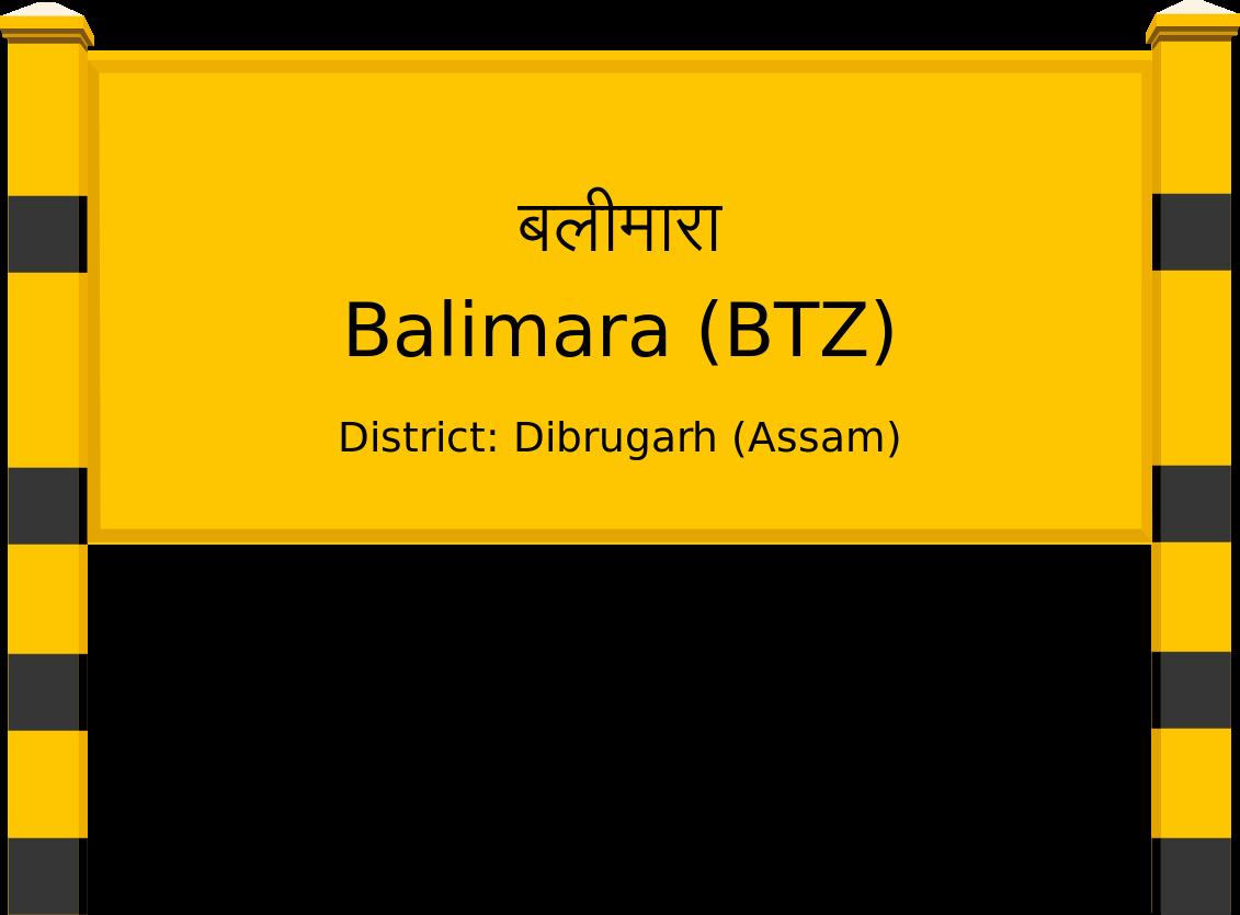 Balimara (BTZ) Railway Station
