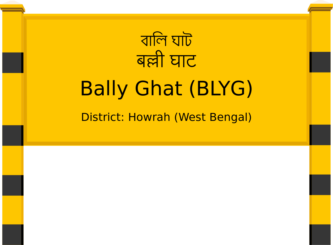 Bally Ghat (BLYG) Railway Station