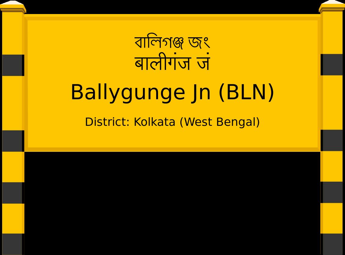 Ballygunge Jn (BLN) Railway Station