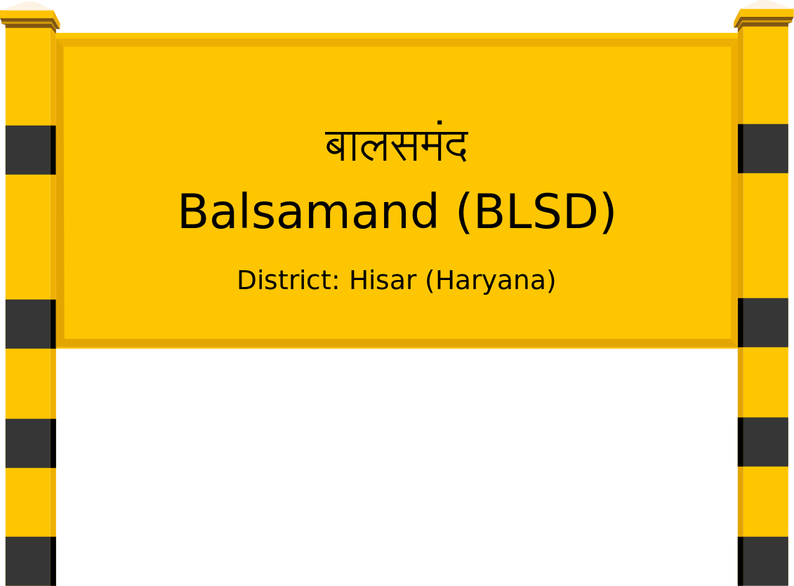 Balsamand (BLSD) Railway Station