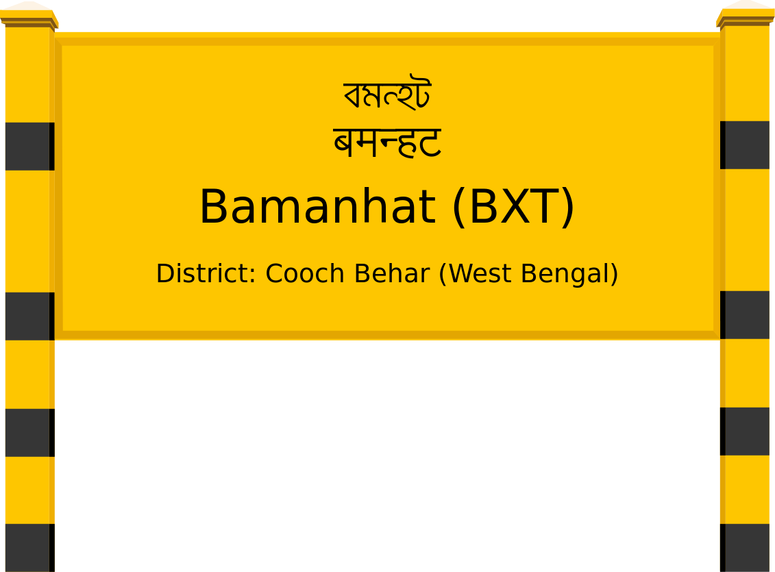 Bamanhat (BXT) Railway Station