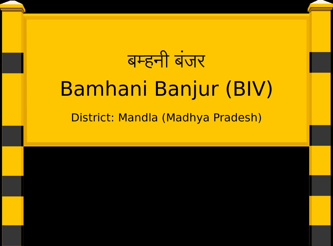 Bamhani Banjur (BIV) Railway Station