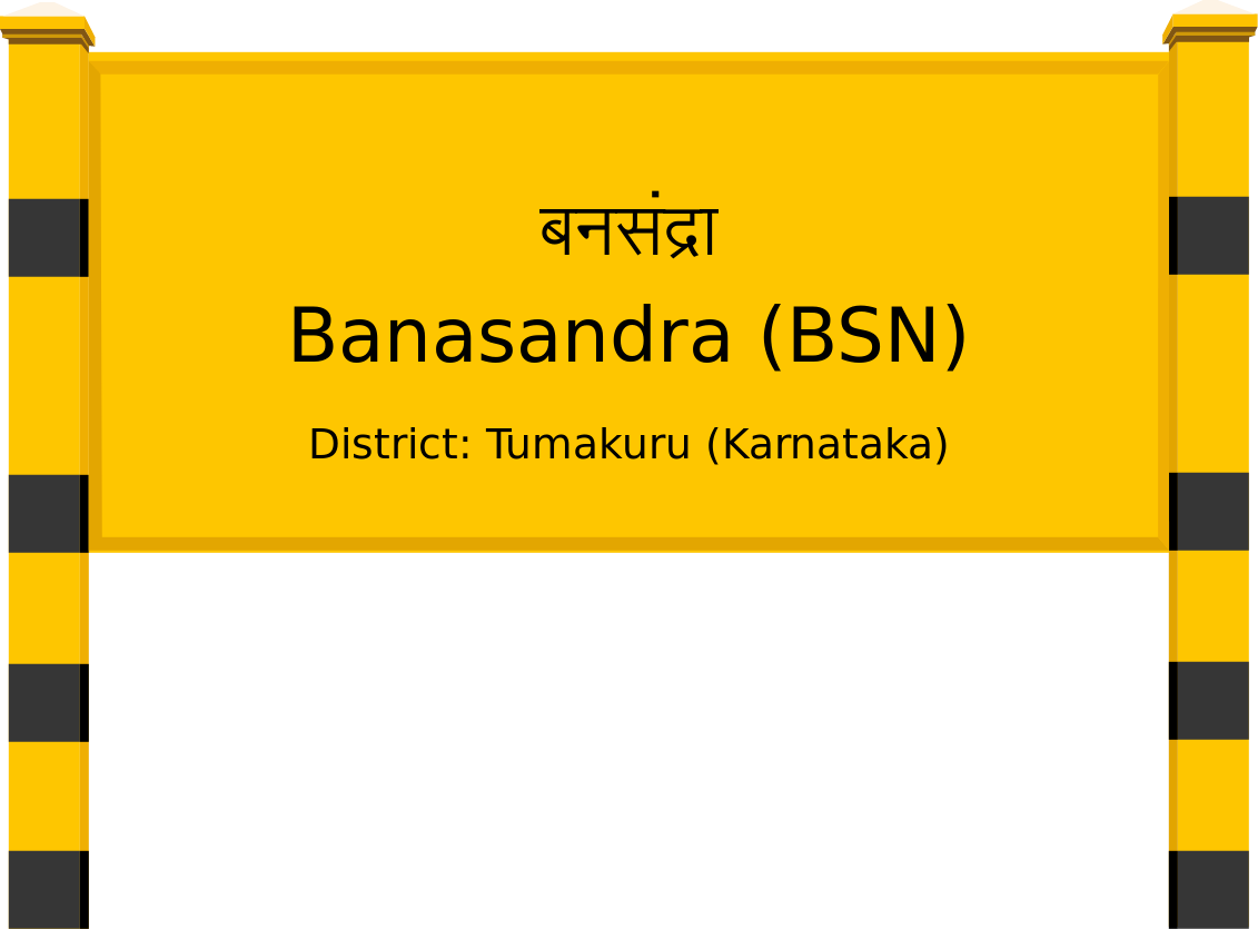 Banasandra (BSN) Railway Station