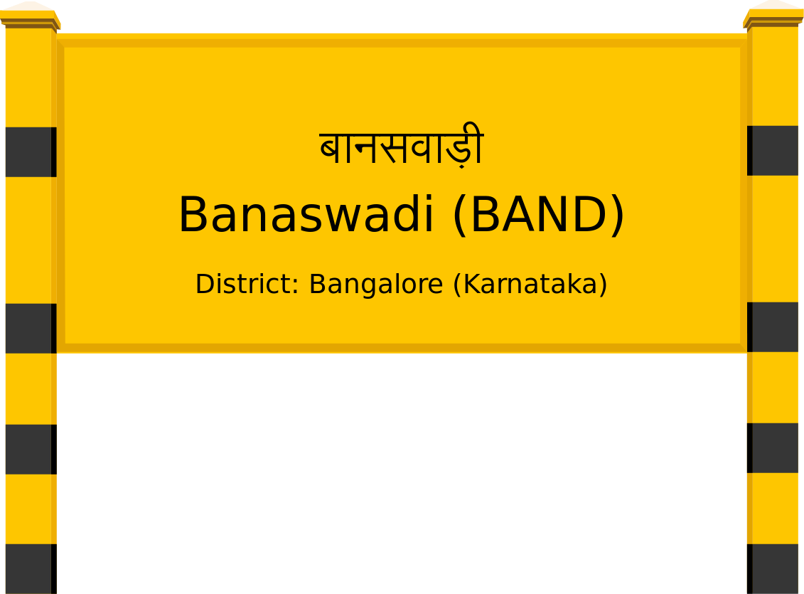 Banaswadi (BAND) Railway Station
