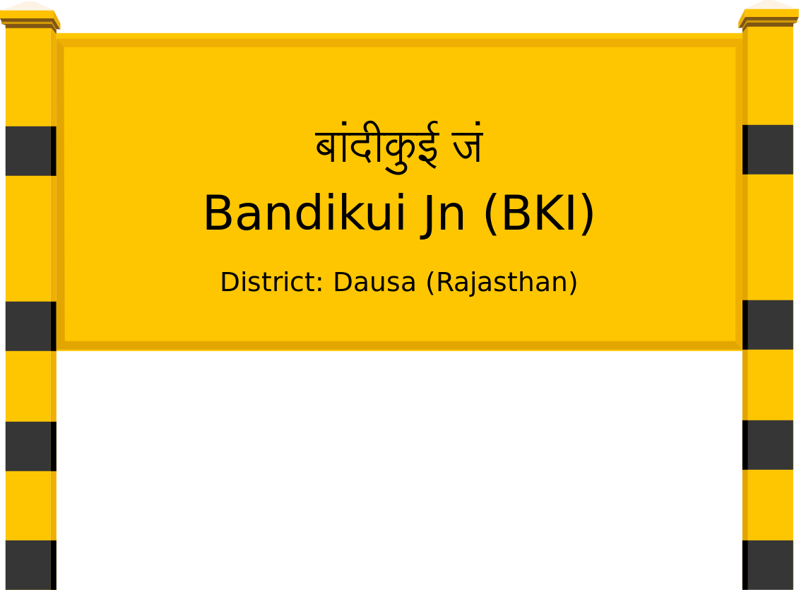 Bandikui Jn (BKI) Railway Station