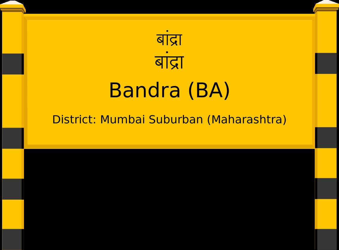 Bandra (BA) Railway Station