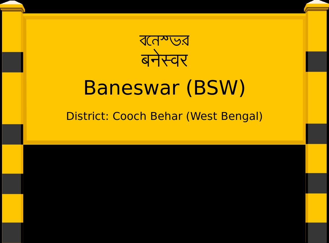 Baneswar (BSW) Railway Station
